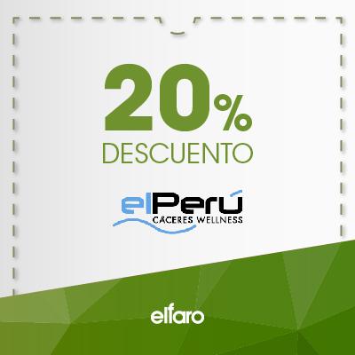 El Perú Cáceres Wellness