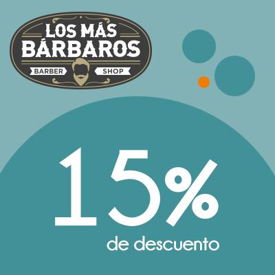 Los Más Bárbaros - 15% de descuento