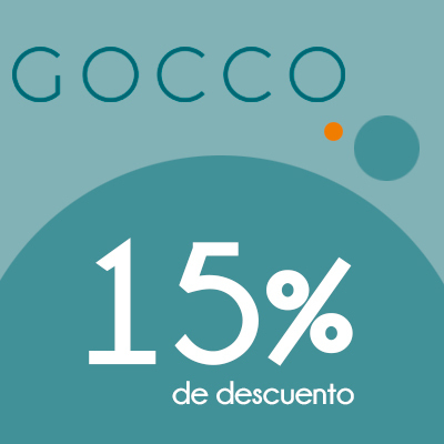 Gocco - 15% de descuento