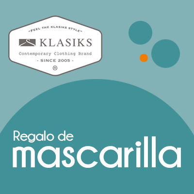Klasiks - Mascarilla de regalo
