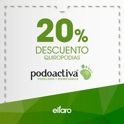 Podoactiva - 20% dto