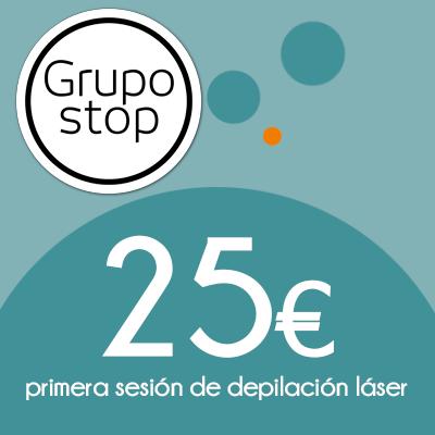 Grupo Stop - 25€en sesión de laser