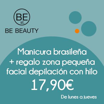 BE BEAUTY - Manicura brasileña 17.90