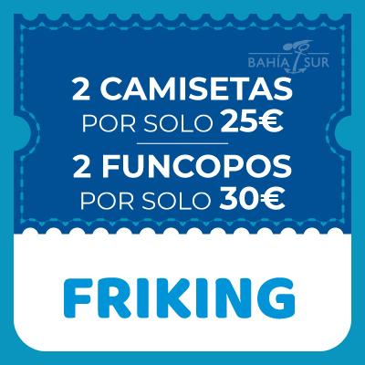 2 camisetas por 25€