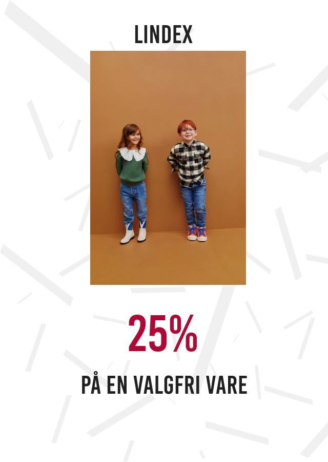 25% på en valgfri vare