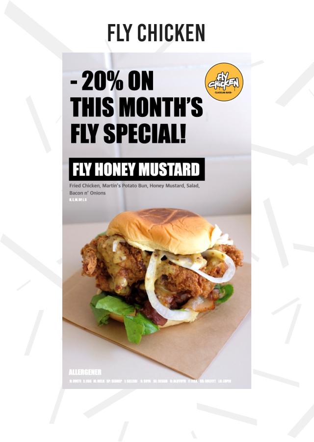 20% fly honey mustard